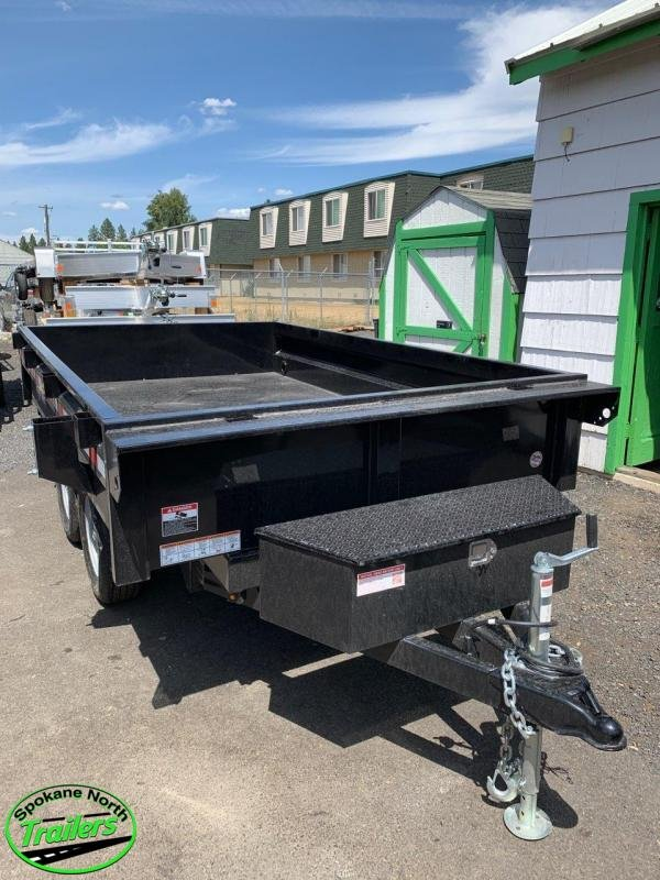 2020 Sure-Trac 6X10 Deckover Dump 7K Single Ram