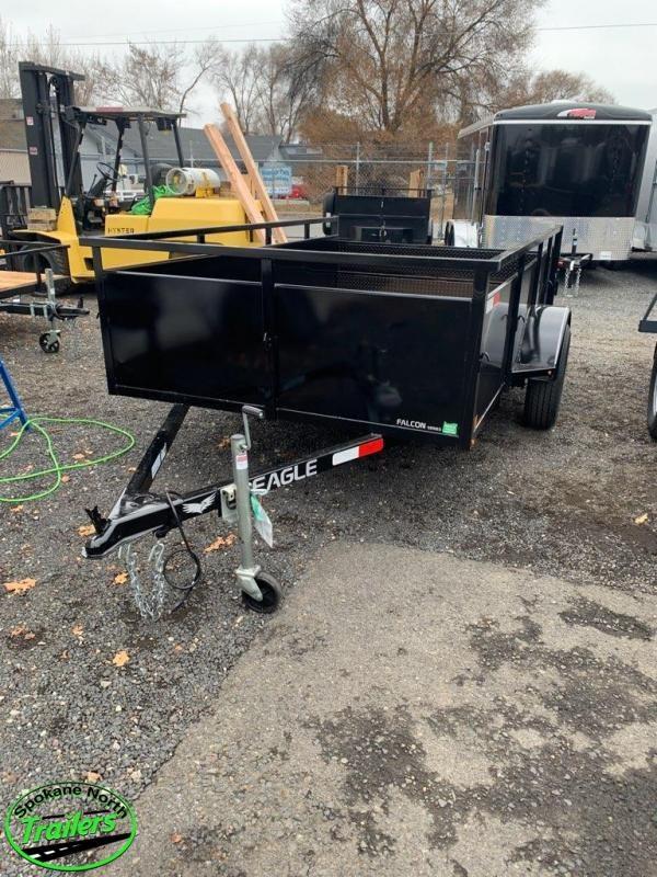 2020 Eagle Trailer Falcon Lightspeed 6x10 Landscape Utility Trailer