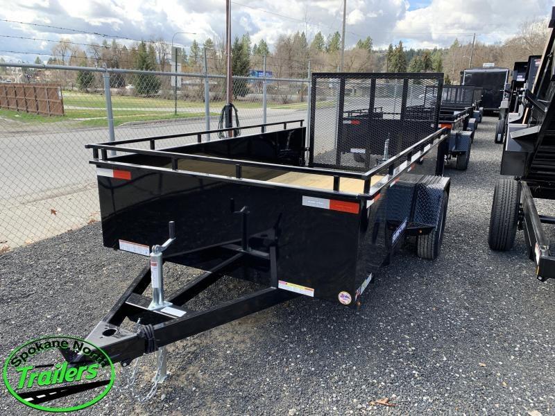 2019 Sure-Trac 6x12 Steel High Side 5K