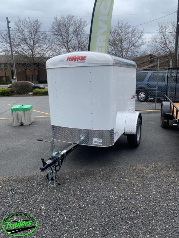 2020 Mirage Xcel 4x6 Single Axle Cargo Trailer
