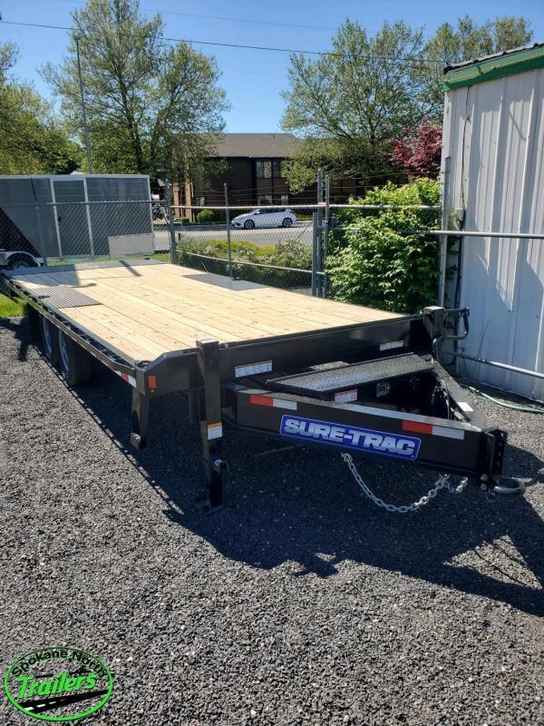 2020 Sure-Trac 8.5x22 Deckover Tilt 15K