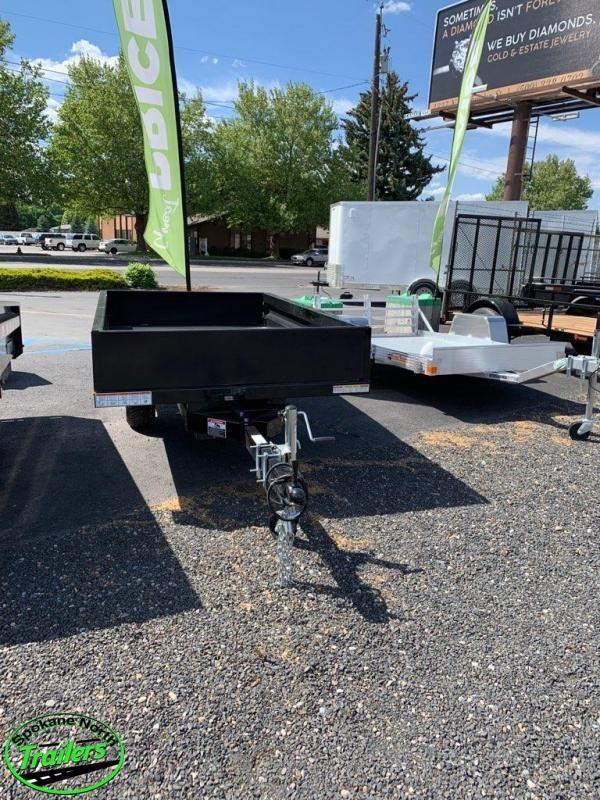 2020 Sure-Trac 4.5x8ft Utility Dump Trailer