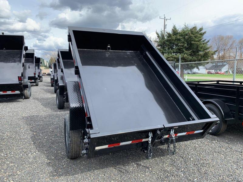 2020 Sure-Trac 5x8 LProfile Dump 5K Single Ram
