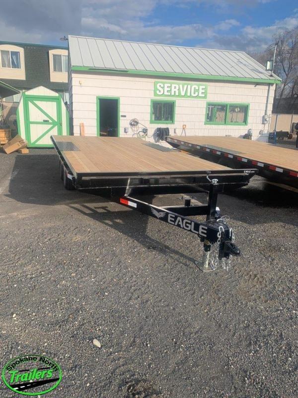 2020 Eagle Trailer 8.5x16 Eagle 10K Equipment Deckover