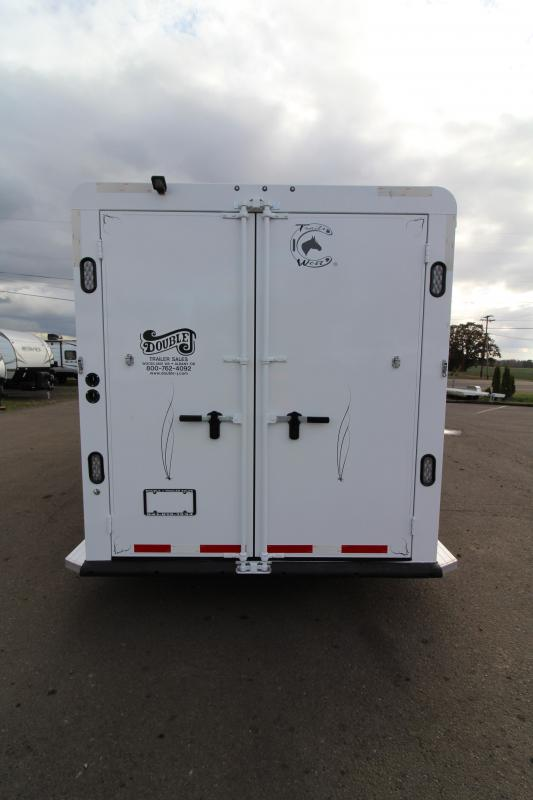 2019 Trails West Classic 3 Horse Comfort Package Trailer - Side Tack PRICE REDUCED