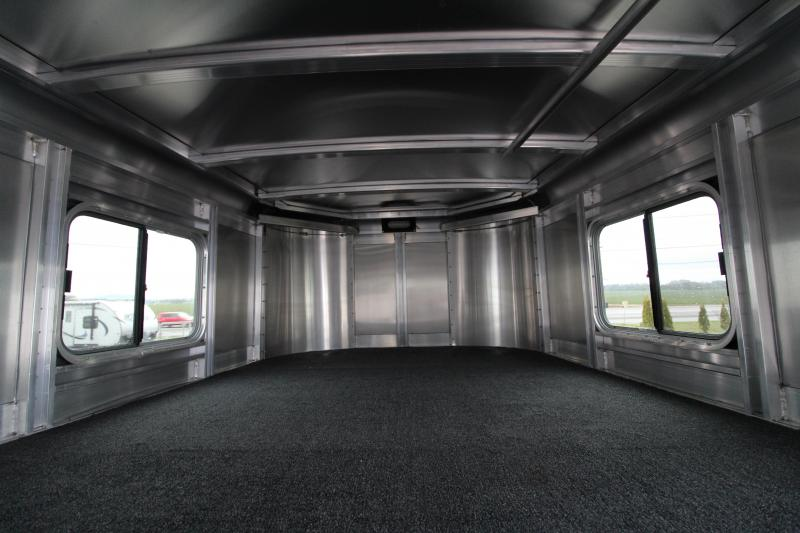 2019 Exiss Express XT 3 Horse Trailer PRICE REDUCED -Champagne - Easy Care Flooring - All Aluminum Construction - 7'2 Tall