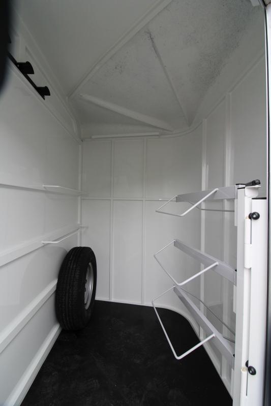 NEW 2019 Thuro-Bilt Wrangler Plus 3 Horse Trailer - Fully Enclosed Tack Room - Plexiglas Inserts - Swing Out Saddle Rack
