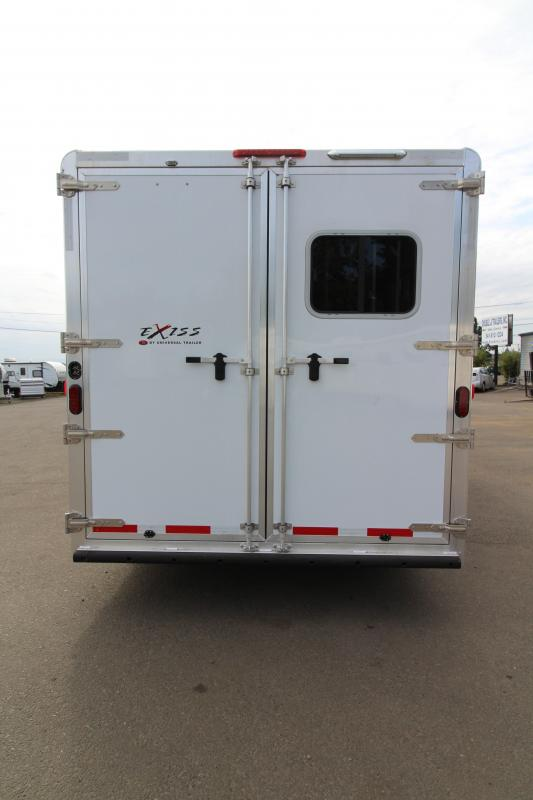 NEW 2019 Exiss 8316 - 3 Horse - 16' Short Wall Living Quarter w/ Slide-out - Easy Care Flooring - All Aluminum Horse Trailer - Dinette and Sofa! - Upgraded L.Q. Features - Mangers - Stud Wall - PRICE REDUCED BY $4700!