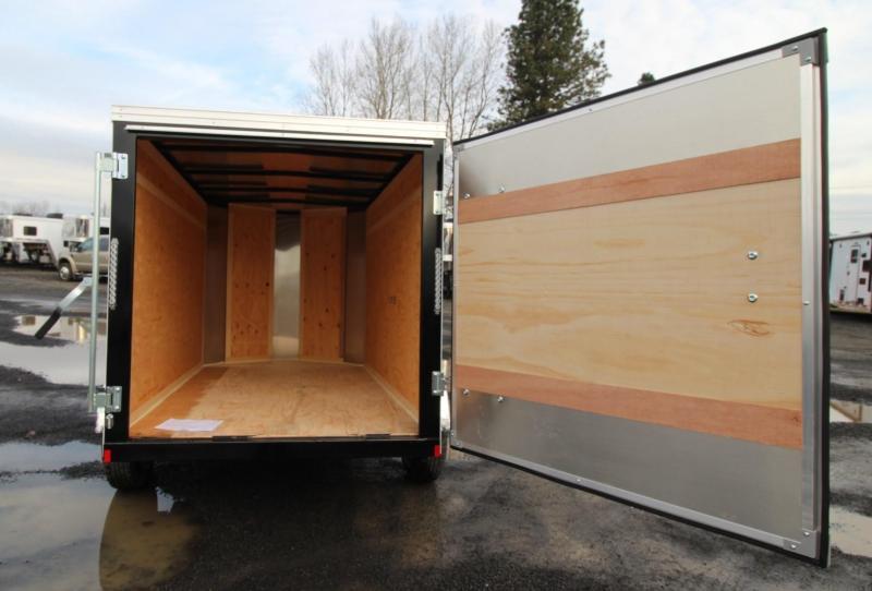 2020 Mirage Trailers 5x8 SA w/ Rear Door Enclosed Cargo Trailer