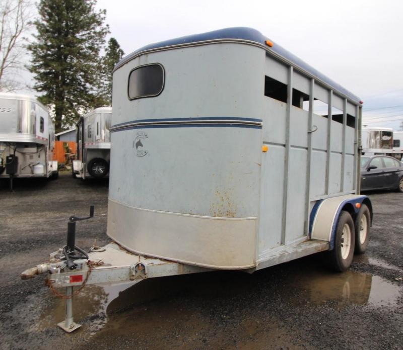 1992 Trails West Santa Fe 2 Horse Trailer