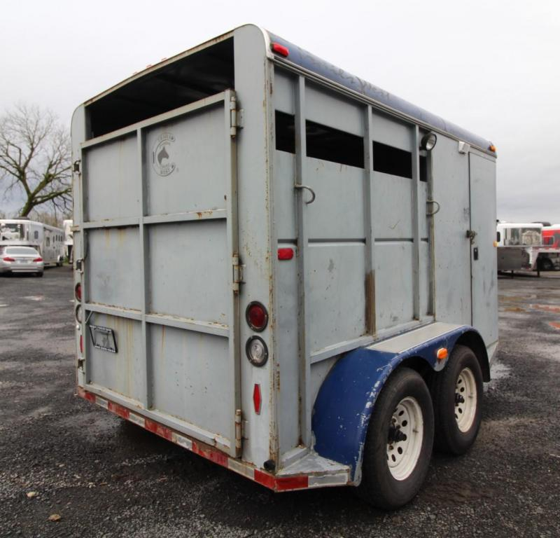 1992 Trails West Santa Fe 2 Horse Trailer