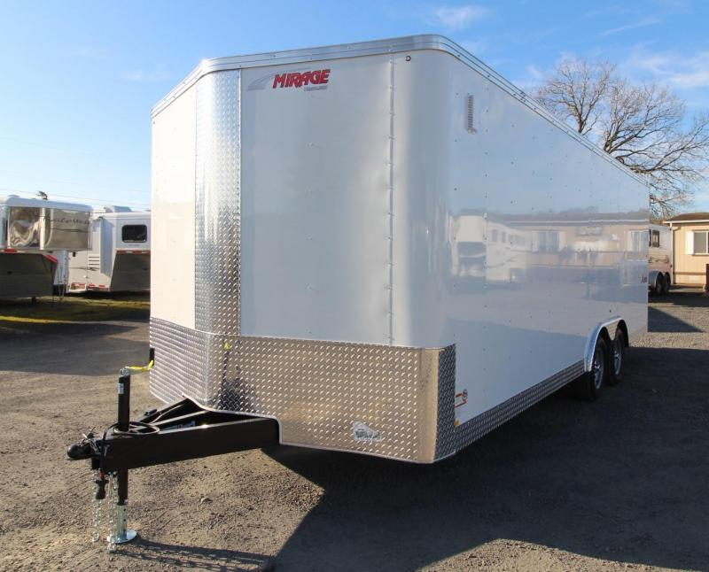 2020 Mirage Xpres 8.5x20 TA Car Carrier Package Enclosed Cargo Trailer