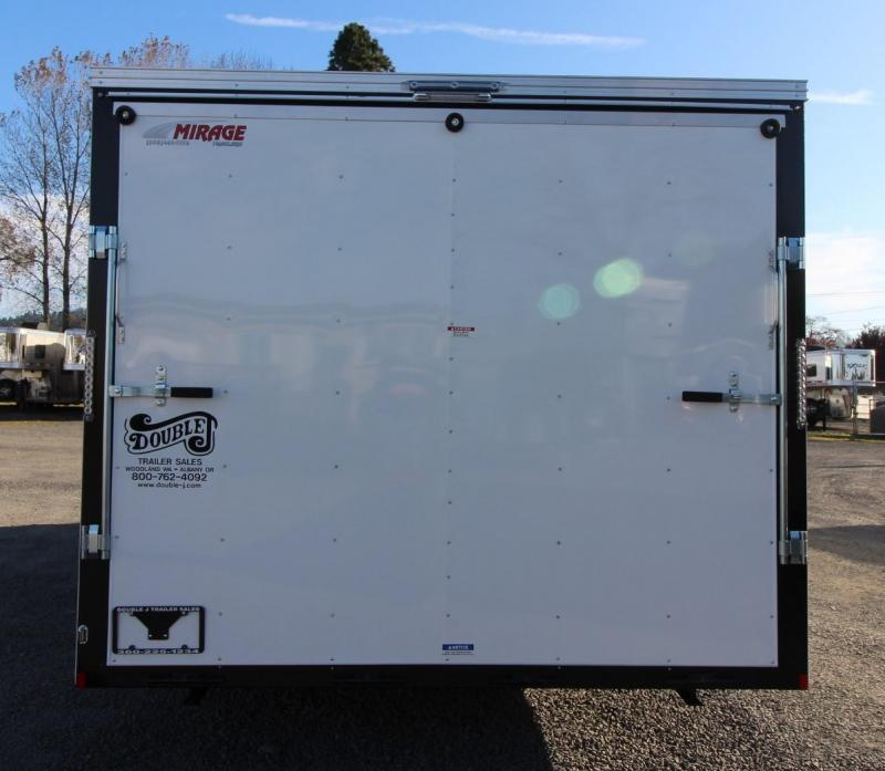 2020 Mirage Xpres 8.5' x 20' TA Car Carrier Package Enclosed Cargo Trailer