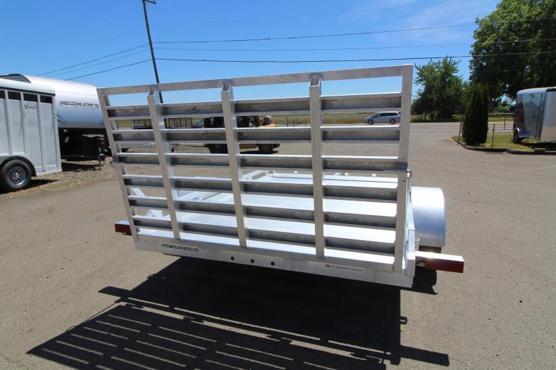 2019 Featherlite 1693 Flatbed 10' Utility Trailer - All Aluminum -REDUCED $600