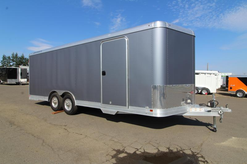 2019 Featherlite 4926 22' Enclosed Car Trailer - All Aluminum - 7' Tall - Includes Professional Vinyl Wrap - PRICE REDUCED