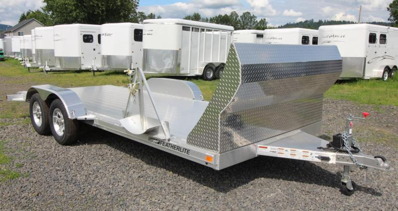 2020 Featherlite 3182 - 18ft Car trailer w/ Air Dam Car / Racing Trailer