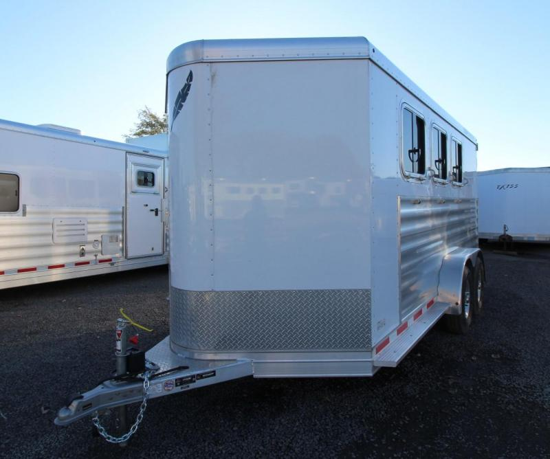 2020 Featherlite 7441 - Large Dressing Room - Rear Tack 3 Horse Trailer