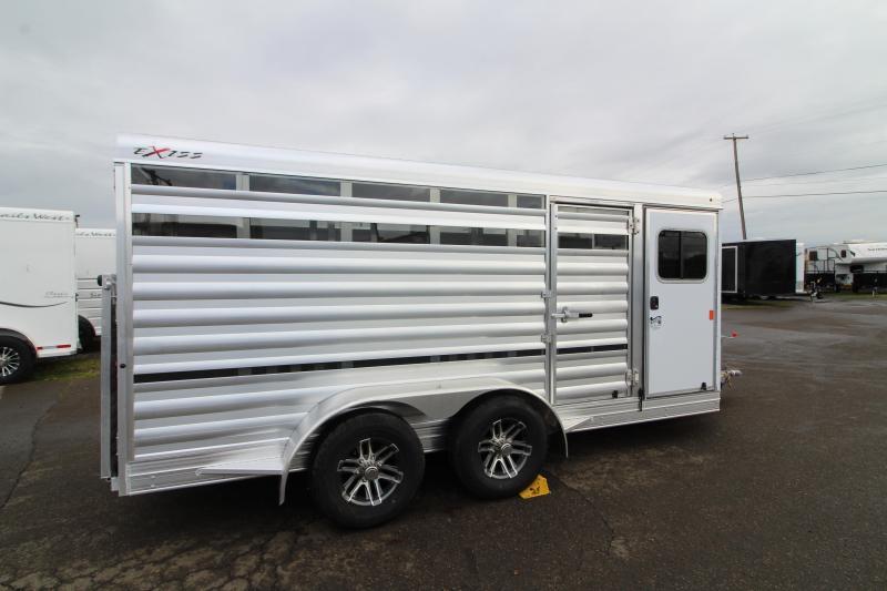 2020 Exiss Trailers 615 Mini Exhibitor Livestock Trailer