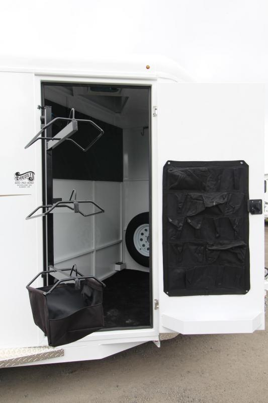 2019 Trails West Adventure MX 3 Horse Trailer - Windows in Rear - Convenience package - Drop down windows