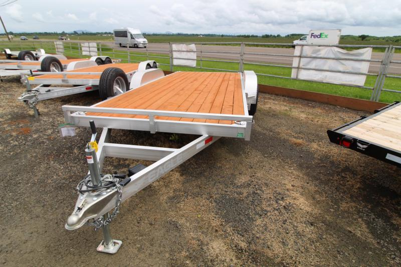 2020 Eagle 7x16 Aluminum Tandem Axle Flatbed Trailer 10K