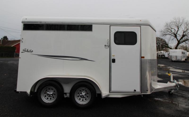 2020 Thuro-Bilt Shilo 2 Horse Trailer - 1ft Added Trailer Length