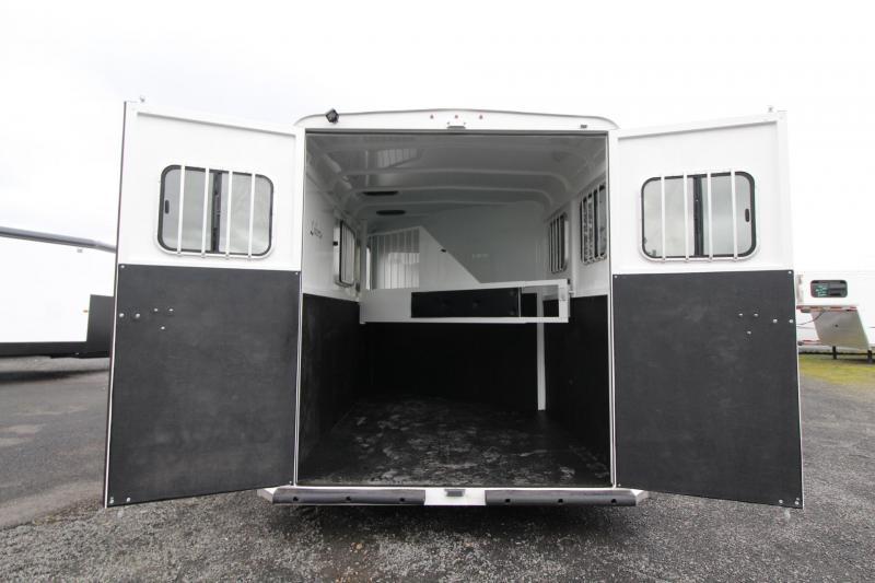 "2020 Thuro-Bilt Liberty 7' 6"" Tall Warmblood Stall 2 Horse Trailer LARGE STALLS"