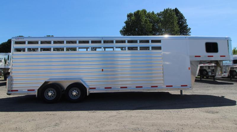 STOLEN TRAILER - 2020 Exiss STC 7024 HAVE YOU SEEN THIS STOCK TRAILER