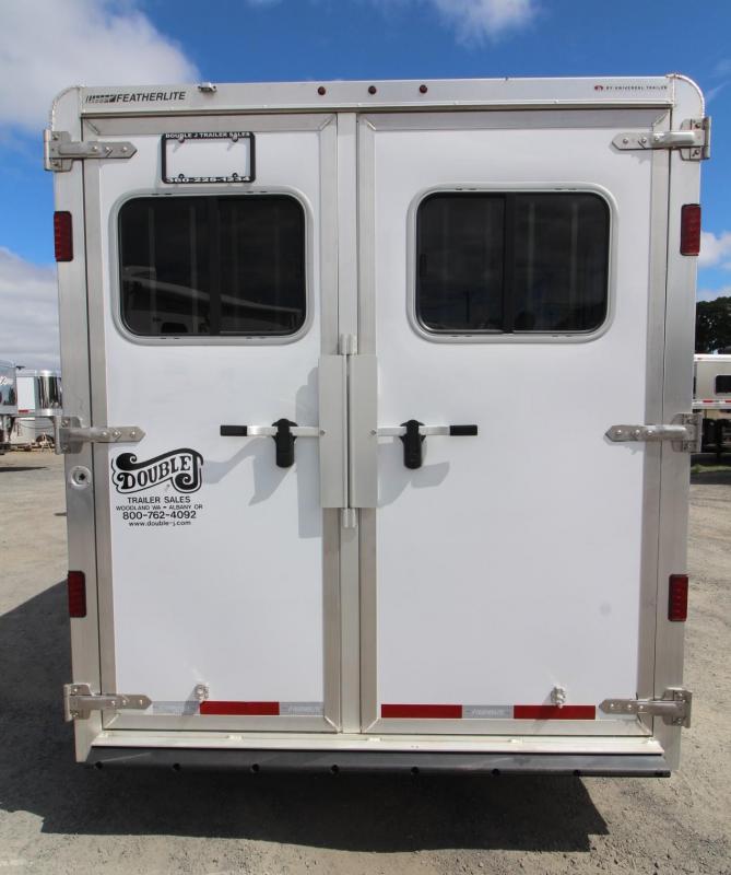 2020 Featherlite 7541 - Aluminum 4 Horse Trailer - LARGE Dressing Room - Rear Tack PRICE REDUCED