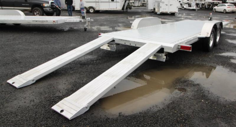 2020 Featherlite 3182 - 20ft Car / Racing Flatbed Aluminum Trailer