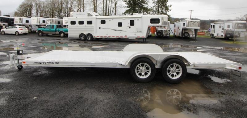 2020 Featherlite 3182 - 20' Car / Racing Flatbed Aluminum Trailer