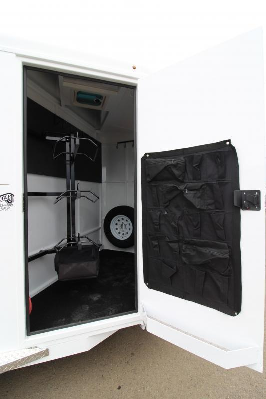 2020 Trails West Adventure MX 3 Horse Trailer - UPGRADED Rear Door Windows - Swing Out Saddle Rack - NEW Floor Plan with Larger Stalls! DO NOT MAKE LIVE UNTIL 2019 MODELS SELL