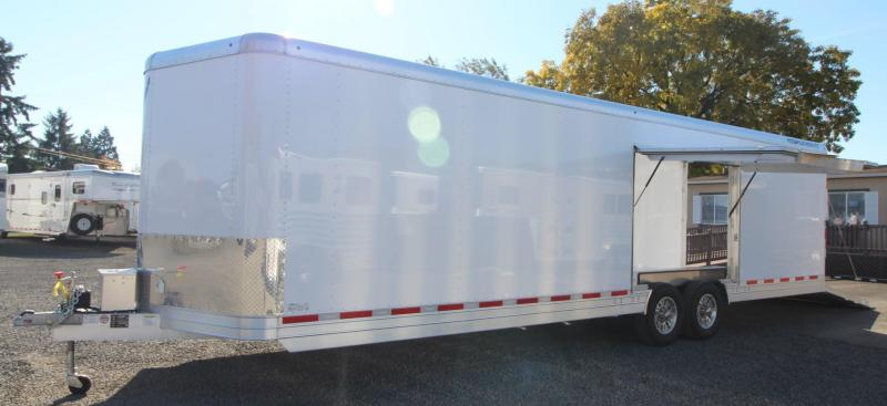 NEW Featherlite 4926 30ft All Aluminum Enclosed Car Trailer w/ Vending Door - Lined and Insulated Price Reduced $7900
