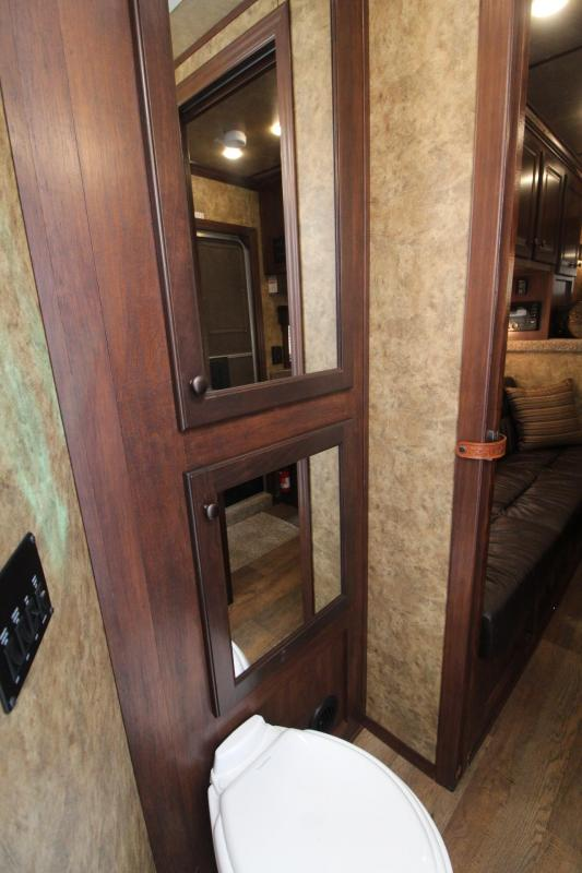 2020 Exiss Trailers Escape 7308 Horse Trailer Easy Care Flooring - Sofa  - Electric Awning - Rear tack PRICE REDUCED $2,000