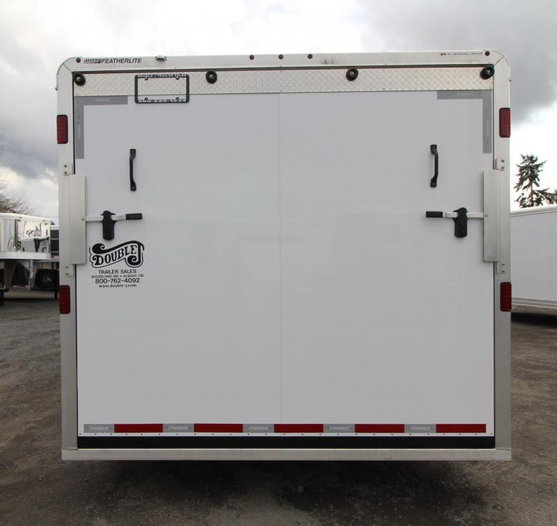2019 Featherlite 4926 - 26FT Aluminum Enclosed Car Trailer - Aero Nose - Beavertail - Stainless steel tie downs - PRICE REDUCED $2600