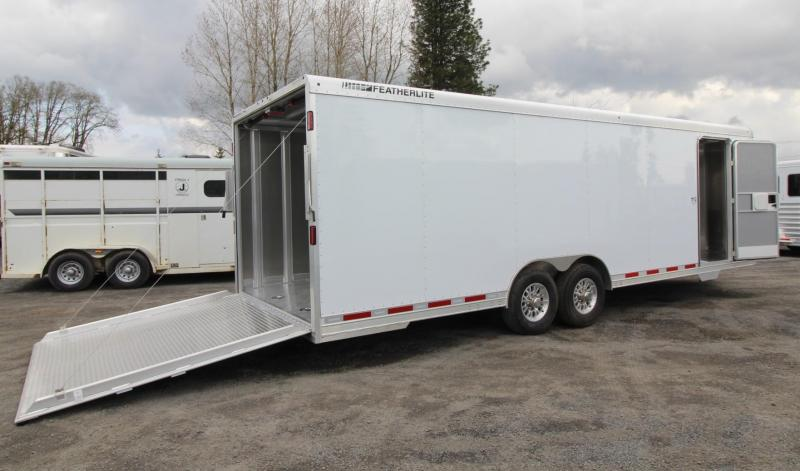 2019 Featherlite 4926 - 26FT Aluminum Enclosed Car Trailer PRICE REDUCED $2000