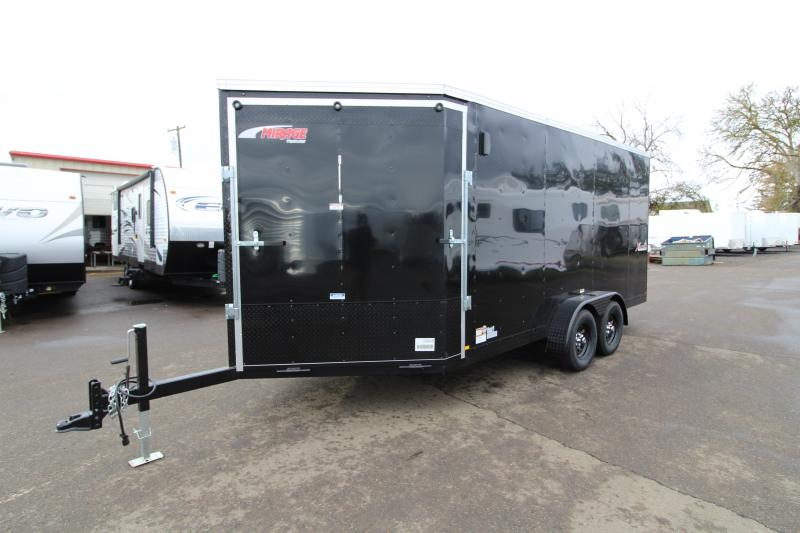 2020 Mirage Trailers Xplorer 7x20 Enclosed trailer -  Summit package - Raven black stone guard - Front and rear ramp