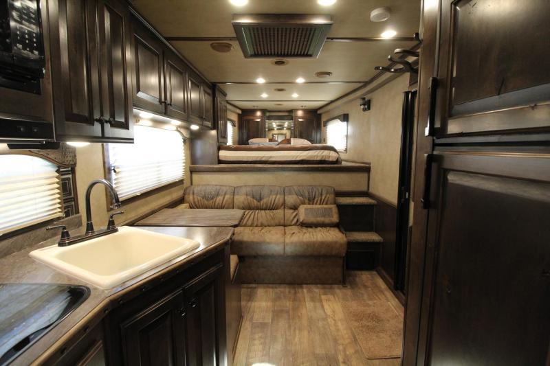 "2021 4-Star Trailers 3 Horse Trailer- 13' Living Quarters- 8' Wide - 7'6"" Tall - Generator - Hayrack - Drop Windows Both Sides PRICE REDUCED $1600"