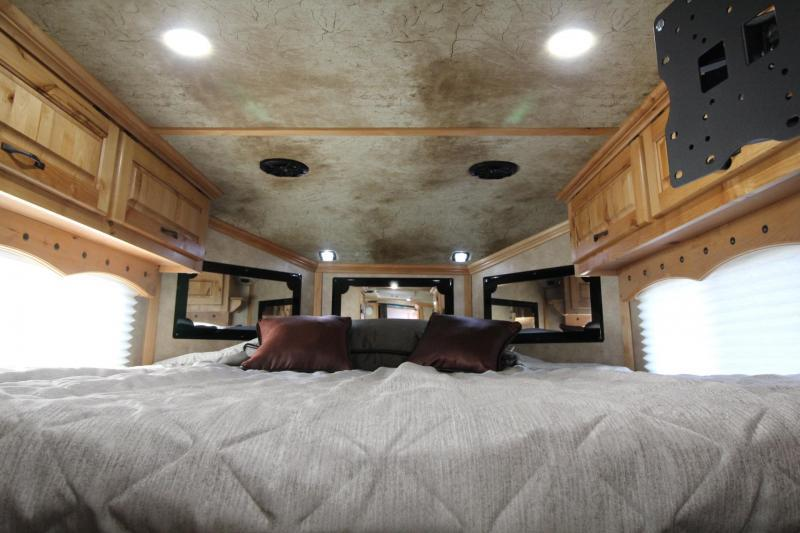 2019 Trails West Sierra 10' x 15' Living Quarters 3 Horse Trailer PRICE REDUCED $1500- Hoof Grip Flooring - One Piece Aluminum Roof - Electric Awning