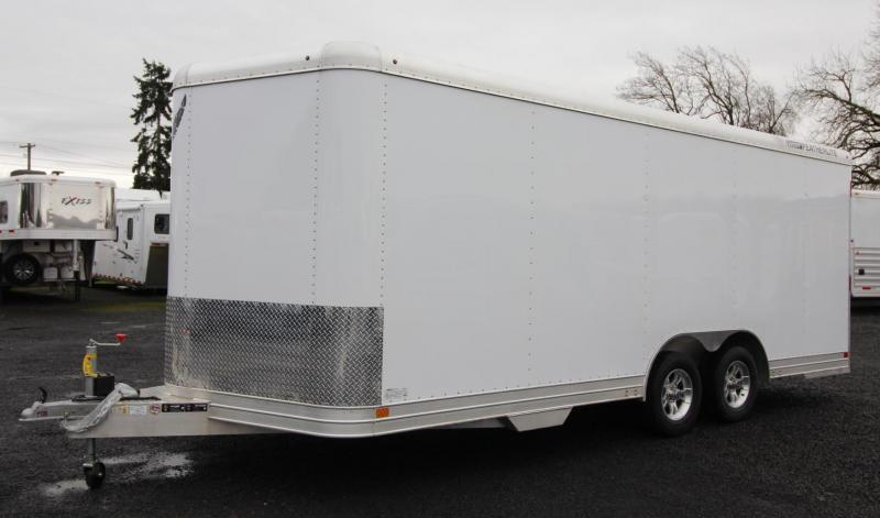 2019 Featherlite 4926 - 20ft Enclosed Car Trailer - all aluminum 7' Tall PRICE REDUCED $2200