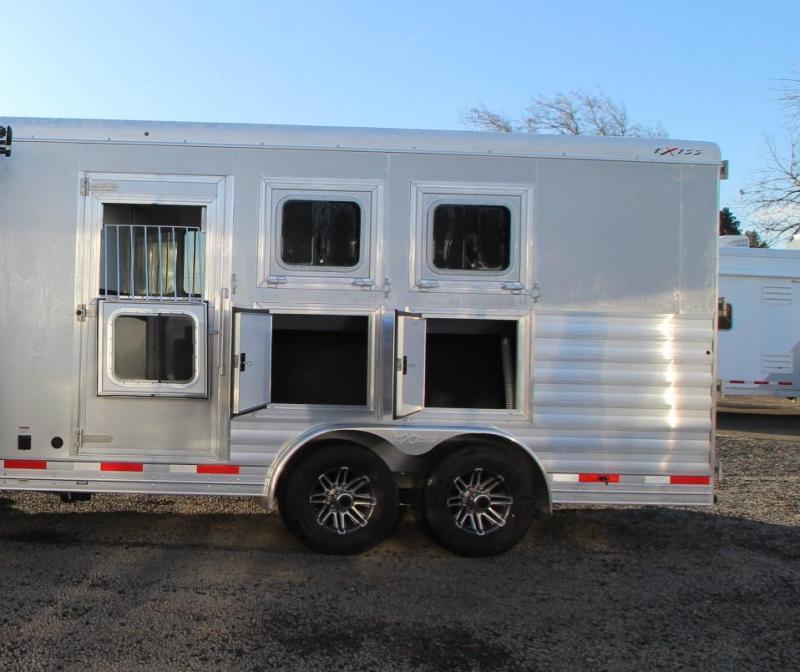 2020 Exiss Endeavor 8310 - 10ft SW Living Quarters w/ Slide out 3 Horse Trailer