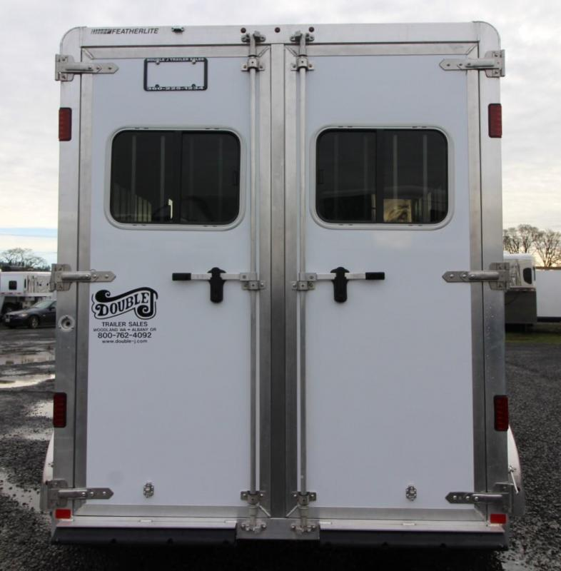 2020 Featherlite 7442 - Straight Load Warmblood 2 Horse Trailer