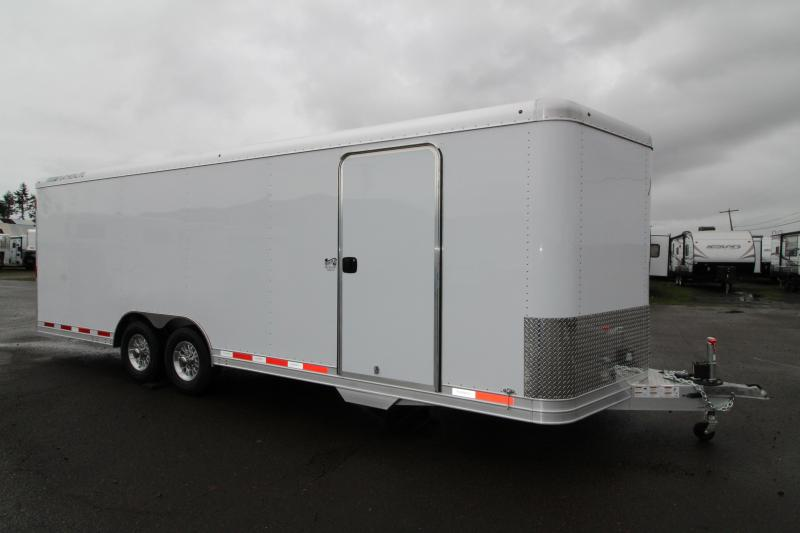 NEW 2019 Featherlite 4928 Enclosed Car / Racing Trailer 24' - Cable Assist Ramp Door - All Aluminum Construction - PRICE REDUCED $2300