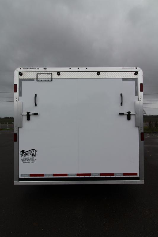 NEW 2019 Featherlite 4926 Enclosed Car/Racing Trailer 24' - Cable Assist Ramp Door - All Aluminum Construction - PRICE REDUCED $2300