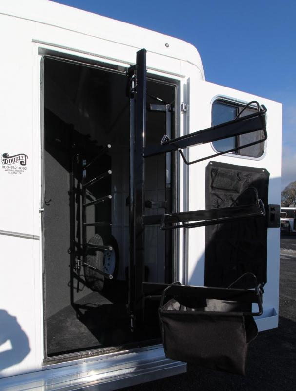 "2019 Trails West Classic II 7' 6"" Tall 3 Horse Trailer PRICE REDUCED Aluminum Skin Steel Frame -  Convenience Package -  Extra Tall"