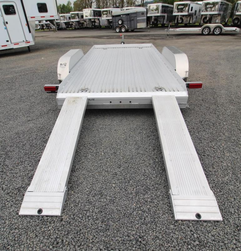 2019 Featherlite 3110 -14ft Car / Racing Trailer PRICE REDUCED - Undercarriage ramp storage - Ramps - Tie downs