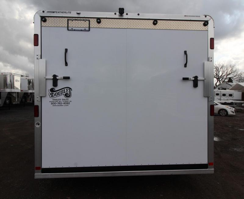 2019 Featherlite 4926 - All Aluminum V-nose w/ Front Ramp & Rear Ramp - Car, Quad or Snowmobile Trailer w/ Nudo Flooring PRICE REDUCED
