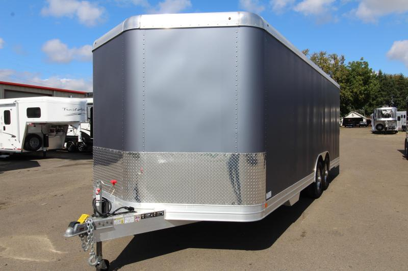 NEW 2019 Featherlite 4926 - 22ft All Aluminum Enclosed Car Trailer PRICE REDUCED BY $2400