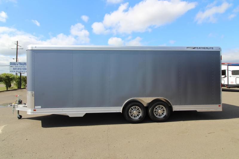 NEW 2019 Featherlite 4926 - 22ft All Aluminum Enclosed Car Trailer PRICE REDUCED $1900