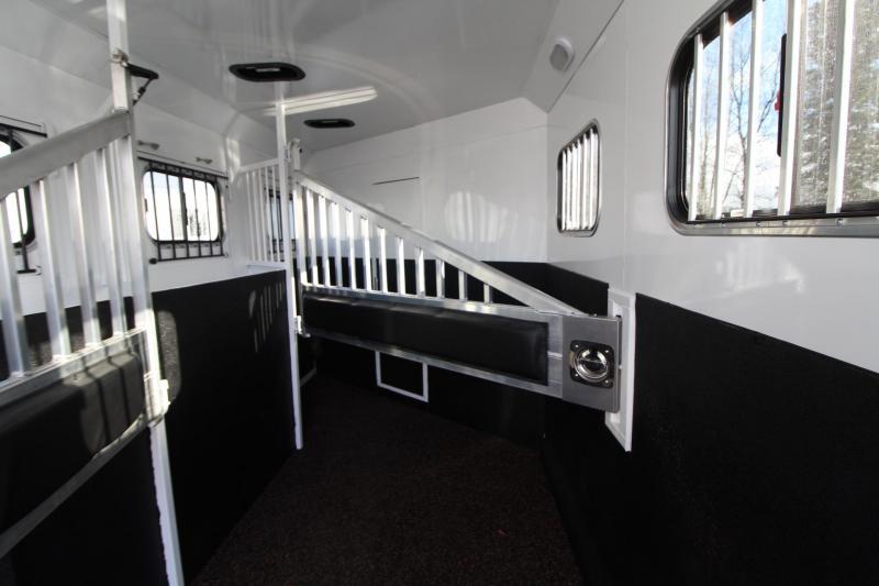 2020 Trails West Sierra 10x15 w/ Slide out Living Quarters - Warmblood - Gen Ready 3 Horse Trailer