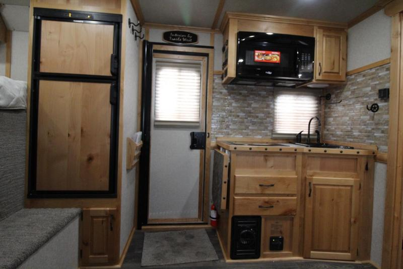 2019 Trails West Sierra 13' x 13' Living Quarters w/ Slide 4 Horse Trailer PRICE REDUCED $2850- Side Tack - GEN READY